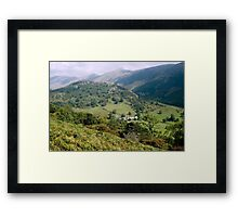 0082  The Rolling Hills of Scotland Framed Print