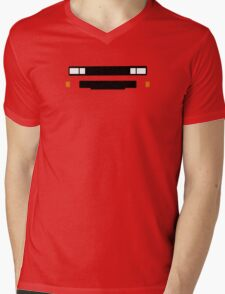 T3 (Caravelle, Microbus) grill and headlights simplistic design version 2 Mens V-Neck T-Shirt