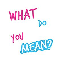 Justin Bieber What Do You Mean Photographic Print