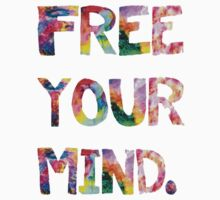 Free Your Mind Kids Clothes
