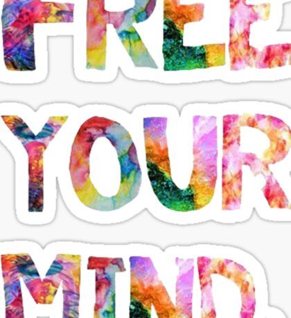 Free Your Mind Sticker