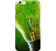 Think Green! iPhone Case/Skin