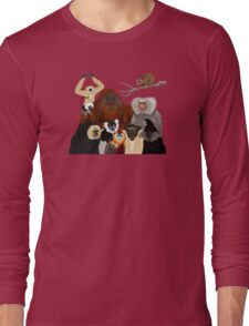 I Am Thankful For Primates Long Sleeve T-Shirt