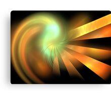 Photon Rays Canvas Print