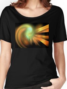Photon Rays Women's Relaxed Fit T-Shirt