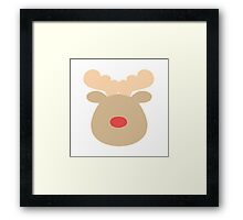 Rudolph the Red Nosed Reindeer #1  Framed Print