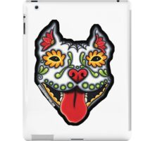 RASTA PIT BULL CROPPED EARS iPad Case/Skin