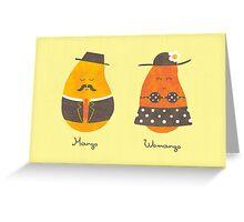 Fruit Genders Greeting Card