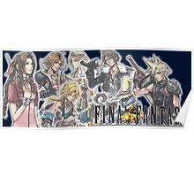 Final Fantasy Group Poster