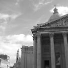 Pantheon in Black and White by ChristineBetts
