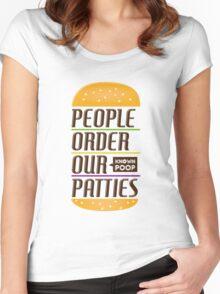 POOP Women's Fitted Scoop T-Shirt