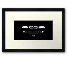 E46 The Ultimate Driving Machine Framed Print