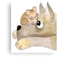 Gustav The Mouse (2/3) Canvas Print