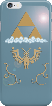 Wind Waker iPhone Shield- Daytime Theme by Midna