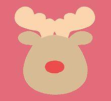 Rudolph the Red Nosed Reindeer #3 by simplepaperplan