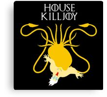 """House Killjoy"" - Disney Meets Game of Thrones  Canvas Print"