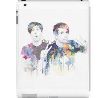 dan and phil iPad Case/Skin