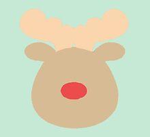 Rudolph the Red Nosed Reindeer #4 by simplepaperplan