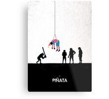 99 Steps of Progress - Pinata Metal Print