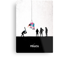 99 Steps of Progress - Pinata Metal Print