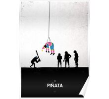 99 Steps of Progress - Pinata Poster