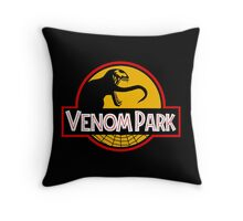 Venom Park Throw Pillow