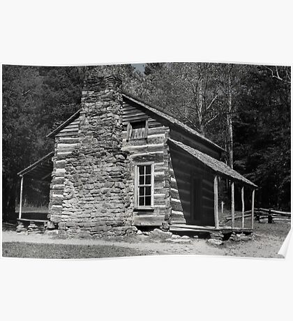 Olivers Cabin - Cades Cove Tennessee  Poster