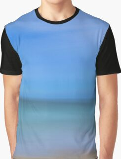 Abstract Seascape Graphic T-Shirt