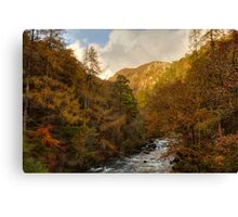 Aberglaslyn Pass Canvas Print