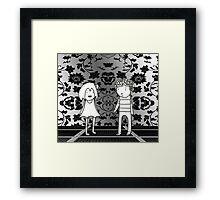 Empty Room Framed Print