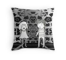Empty Room Throw Pillow