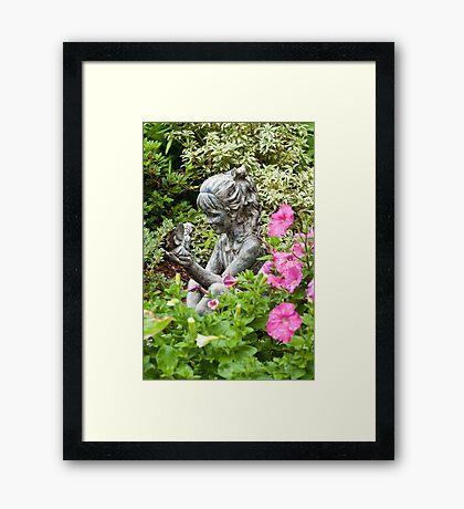 Garden Fairies Framed Print