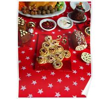1/12th scale miniature Christmas Tree Bread Poster
