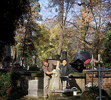 Rakowicki cemetery, Kraków 2003 by Michel Meijer
