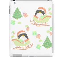 Penguin in Sleigh #1 iPad Case/Skin