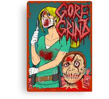 Goregrind - Nurse Kate Gore Canvas Print