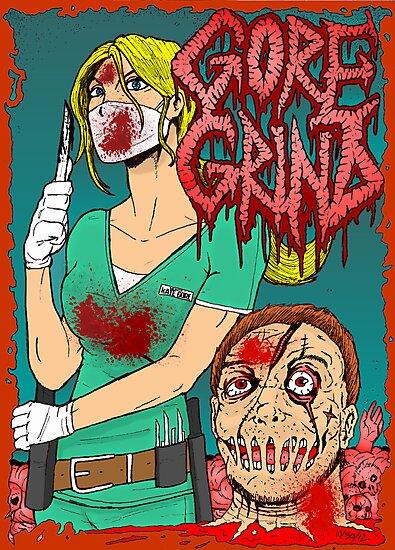 Goregrind - Nurse Kate Gore by MetalheadMerch
