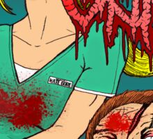 Goregrind - Nurse Kate Gore Sticker