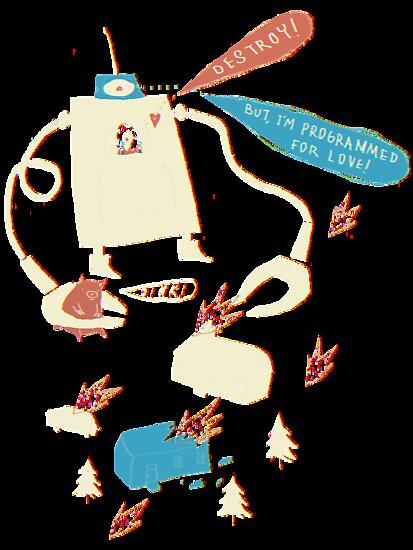 Robot love. by louros