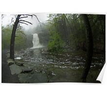 At a Distance, Awosting Falls Poster