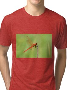 Red Dragonfly Tri-blend T-Shirt