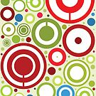 Apple Design iPhone and iPod Touch Circles Case Cover by David Alexander Elder