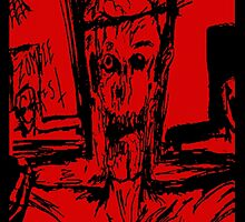 Zombie Christ (In Red) by DandyJon