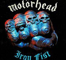 Motorhead Iron Fist Grunge by robertnorris