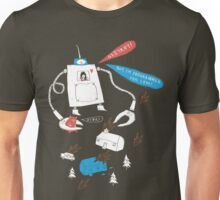 Robot love. Unisex T-Shirt