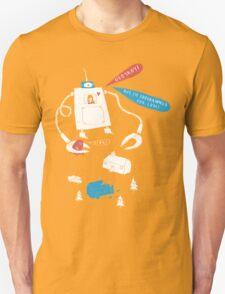 Robot love. Unisex T-Shirt