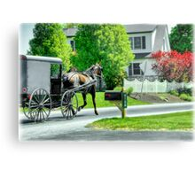 Trotting Along... Metal Print