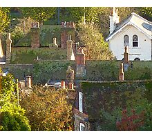 Roof tops & chimney pots . Photographic Print