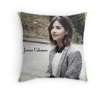 Jenna Coleman Throw Pillow