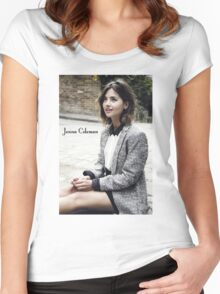 Jenna Coleman Women's Fitted Scoop T-Shirt